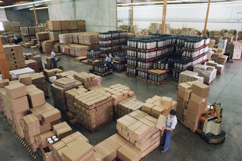 Продуктовый склад
